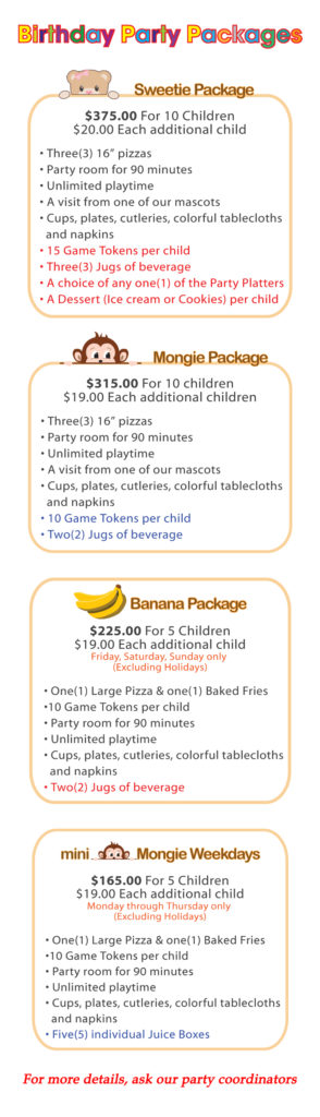 Party Packages old_190310